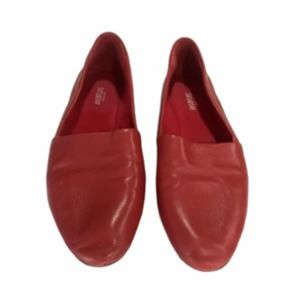 Kate Spade Saturday Red Lazy Loafers 7.5 Flats
